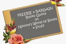 FBQ- Free and Bargain books on Njkinny's World of Books & Stuff / Free and bargain book deals on Njkinny's World of Books & Stuff