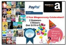 Giveaways / Cool giveaways running on Njkinny's World of Books & Stuff!