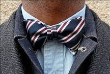 bowties / ties in a bow