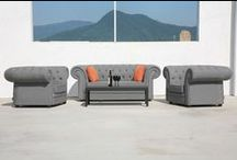 Outdoor Fabric Lounge
