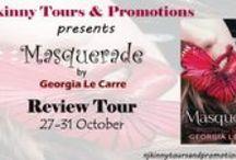 Review Tour: Masquerade by Georgia Le Carre {27-31 Oct} / This board features all the reviews done as part of the Review Tour organized by Njkinny Tours & Promotions from 27-31 October.
