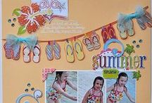 Inspiration - Scrapbooks! / Fun and Creative Ideas for Page Layouts
