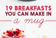 Recipes - In a Mug! / Recipes for Quick Meals and Desserts Made in a Mug using a Microwave!