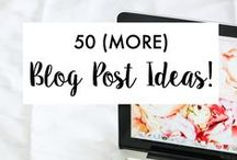 Building My Blog & Brand! / Helps for Building an Online Business.