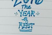 The Year of Rest / Great Ideas for Mindful and Slow Living.