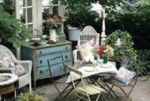 Deco - Porches, terraces, gardens & Cia.