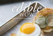 Our Magazine Covers / We take pride in our beautiful covers that showcase the local food movement in SE Michigan.