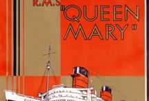 QUEEN MARY 2 / Cunard Line / by Eileen Blessington