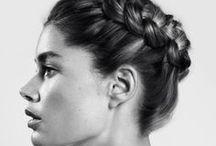 • • hair
