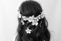White days hair and beauty