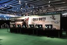 Eurogamer's EGX - 2014 / We installed a selection of signs and graphics for this year's EGX at earls court.