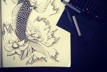 Draw sketch tattoo m'ink / Creation tattoo m'ink