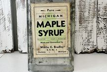 Michigan Maple Syrup / Sweet and pure, a true Michigan treat