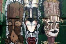 Street art, photos et autres sources d'inspiration