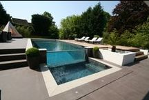 The International Design & Architecture Awards 2013 / This stunning glass wall pool and spa was a finalist in these prestigious international awards. The pool has also won several UK awards.