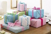 Pretty Wrapped Parcels / by yvonne