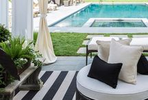 Gardens + Patios + Courtyards + Pools.