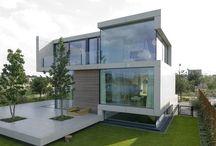 Maison : architecture extérieur