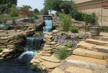 Waterfalls and Ponds / Adding a water feature to your landscape and create a attractive, and calming setting