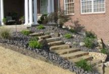 Walls, sidewalks, and steps / Things to consider when designing a landscape: Walls, Sidewalks, and Steps