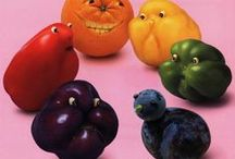 Vegetable Art / Love to do this art