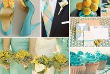 Ha esküvő, akkor türkiz! / Megtaláltam az ideális színt... már csak egy kis inspiráció kell a megvalósításhoz  - türkiz