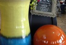 Decorative Pots / Add to your patio, porch, and landscape for added color and texture