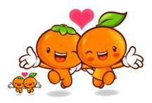 Cartoon Fruits and Vegetables / fruits and vegetables