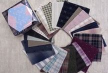 Sakizomemomen / Taupe Fabric