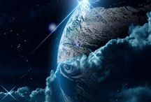 Space travel and discoveries / Space