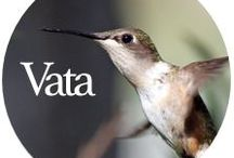 V Is for Vata / Tips to ground and soothe Vata dosha.