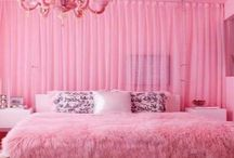 Home / Pink fluffy glitter room