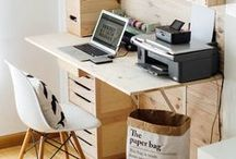 Good Workspaces. / Creative spaces I would love to imitate.