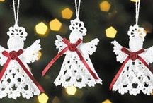 Crocheting/Christmas ornaments / by Susan Elliott Broughton