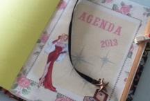 Agendas personalizadas / Agendas hechas a mano. Diseños exclusivos!!!
