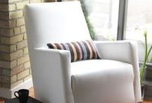 Alto Rocker / This modern-contemporary rocking chair will remain a useful and beautiful chair in any room of your home long after the crib is gone.