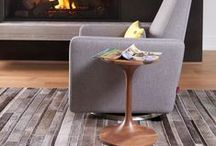 Duo Side Table / The duo side table is a perfect pairing for your rocking chair or glider chair in the nuresry.
