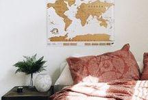 deco / De quarto, sala, casa, apartamento, tudo.