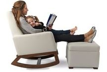 Ottoman / Pair one of our Ottoman's with your rocking chair or glider chair for a stylish and comfortable Modern nursery.