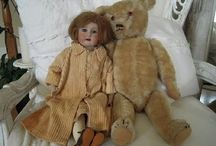 Dolls & a few bears / Mainly older dolls of others I love the look of French & German dolls! / by Paulette Truitt