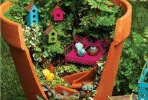 Gardening in Miniature / Gardening in miniature, fairy gardens, gardening tips.
