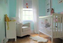 Small Space Nursery Ideas / You can create a beautiful and stylish nursery in a small space with our compact nursery furniture.