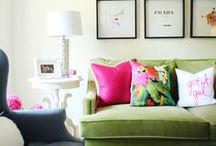 Casa de la Lucy - Inspiration / Ideas and colors and wishes for my abode.