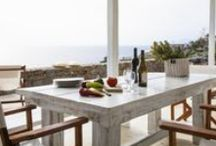 Elegant blue villas / Luxury Villas Rental in Greece  Vacation Accommodation in luxury villas  Facility management of luxury estates,  various supplemental services upon request.