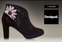 Desigual - Podzim/zima 2014 / Nechte se inspirovat naší nabídkou botek značky Desigual.