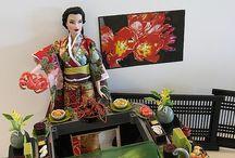 Japão diorama