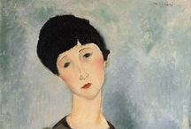 Amedeo Modigliani / Pintura