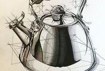 Cómo dibujar... / Apuntes para dibujar objetos