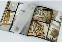 Residence Collection Marketing Material / We offer a wide range of marketing material to support your business!  From Phototography to brochures, stickers to profile samples - get in touch to order yours today kat@residencecollection.co.uk