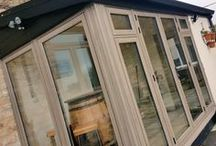 Orangeries / A collection of orangeries and conservatories installed with the Residence Collection windows and doors